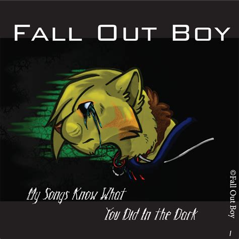 Скачать бесплатно fall out boy my songs know what you did in the.