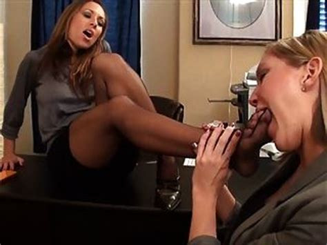 Lesbian secretary foot worship jpg 320x240